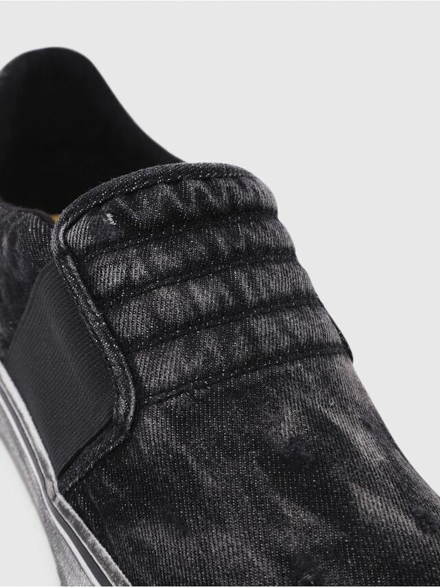 Diesel - S-FLIP ON, Nero Jeans - Sneakers - Image 4