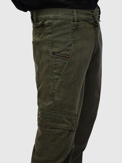 Diesel - D-Krett JoggJeans® 069LX, Verde Militare - Jeans - Image 5