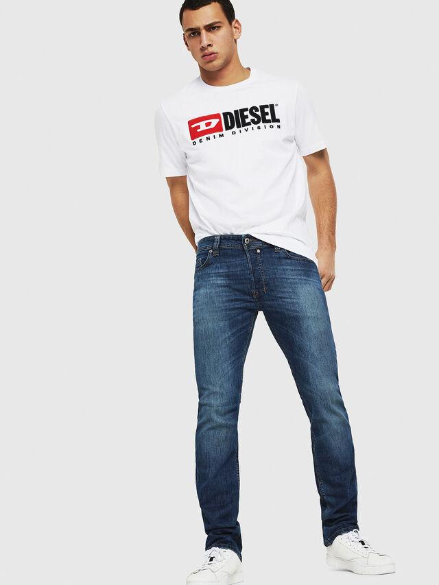 Diesel - Safado C89AR, Blu Scuro - Jeans - Image 4