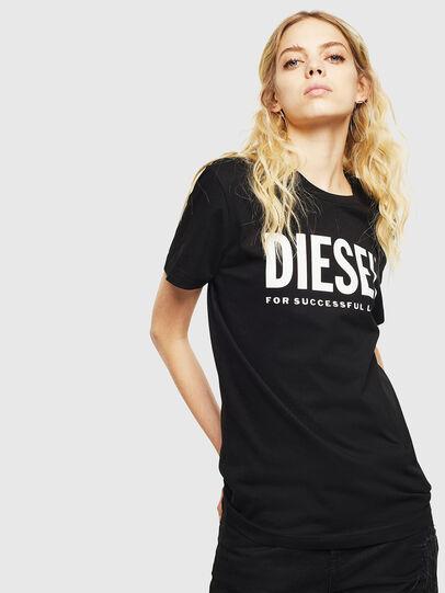 Diesel - T-DIEGO-LOGO, Nero - T-Shirts - Image 2