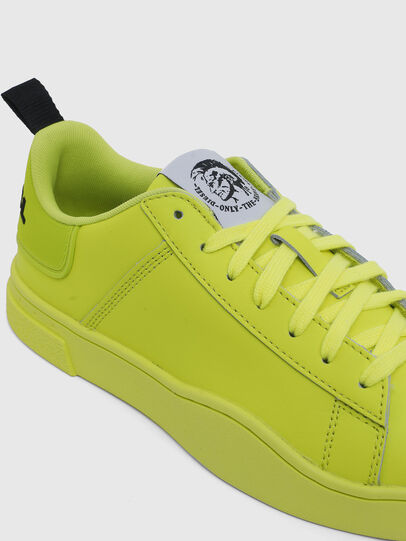 Diesel - S-CLEVER LOW LACE W, Giallo Fluo - Sneakers - Image 4