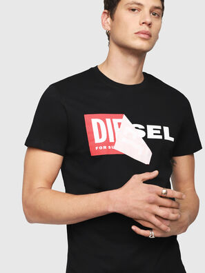 T-DIEGO-QA, Nero - T-Shirts