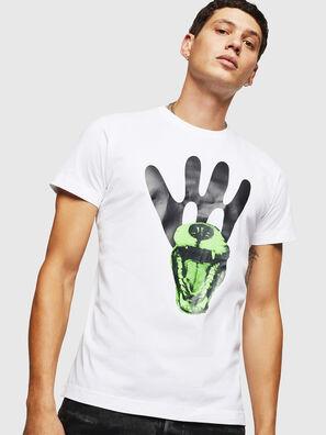 online retailer df95f 43d3a T-shirt con stampa stilizzata