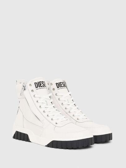 Diesel - S-RUA MID, Bianco - Sneakers - Image 2