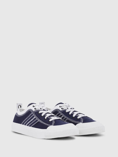 Diesel - S-ASTICO LOW LACE, Blu/Bianco - Sneakers - Image 2