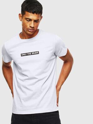 T-DIEGO-T16, Bianco - T-Shirts