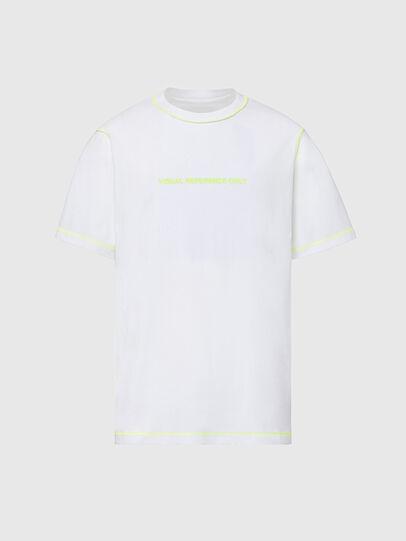Diesel - T-JUSEAM, Bianco - T-Shirts - Image 1