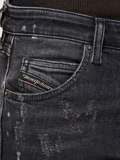 Diesel - Babhila 009JN, Nero/Grigio scuro - Jeans - Image 3