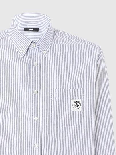 Diesel - S-JAMES-A, Blu/Bianco - Camicie - Image 3