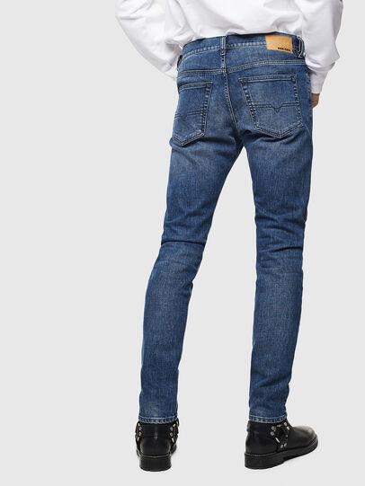 Diesel - D-Luster 0095H, Blu medio - Jeans - Image 2