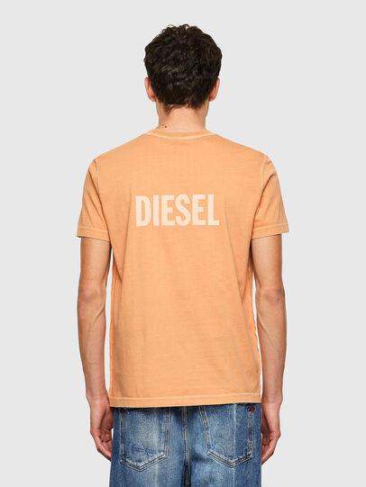 Diesel - T-DIEBIND-B1, Arancione - T-Shirts - Image 2