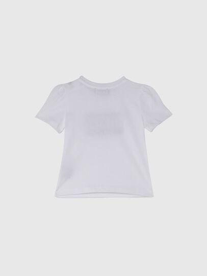 Diesel - TRIDGEB, Bianco - T-shirts e Tops - Image 2