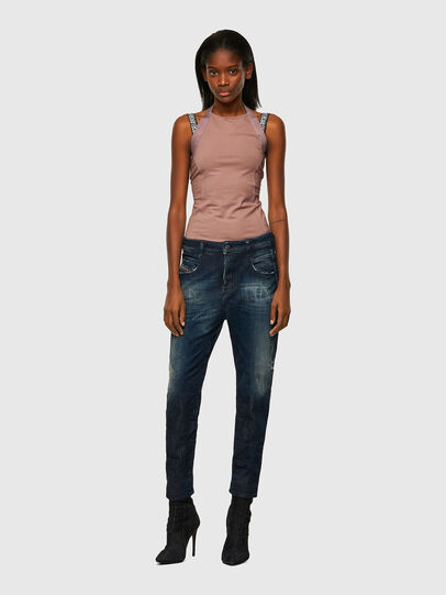 Diesel - Fayza JoggJeans® 09B50, Blu Scuro - Jeans - Image 5