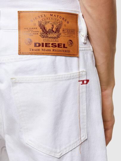 Diesel - D-Macs 0ABBY, Bianco - Jeans - Image 4