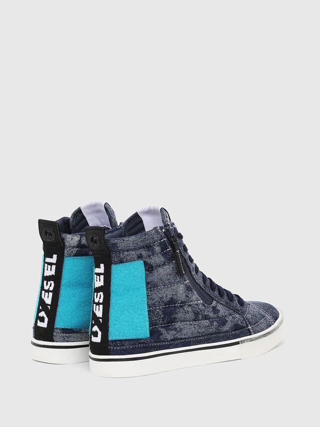 Diesel - D-VELOWS MID PATCH, Blu - Sneakers - Image 3