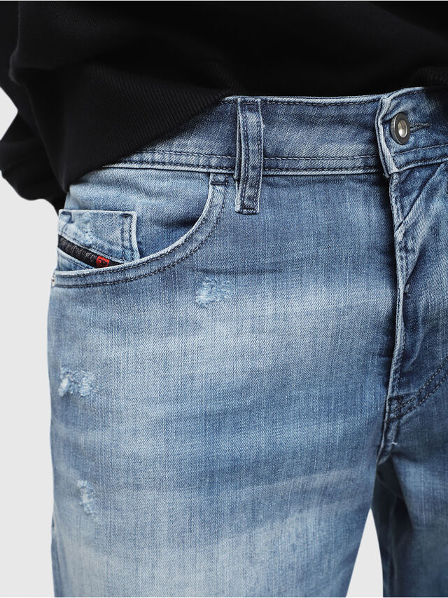 Diesel - THOSHORT, Blu Chiaro - Shorts - Image 3