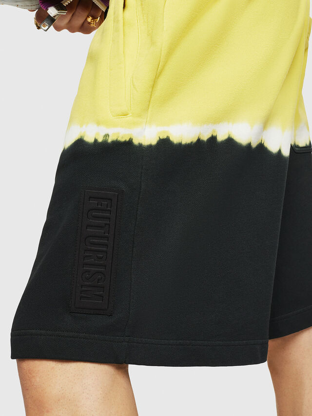 Diesel - P-TOX-DEEP, Nero/Giallo - Shorts - Image 3