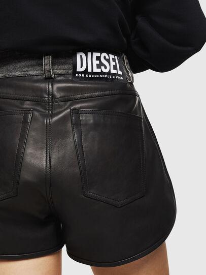 Diesel - L-FARA, Nero - Shorts - Image 5