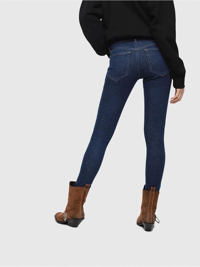 Diesel - Slandy Low 082AA, Blu Scuro - Jeans - Image 2
