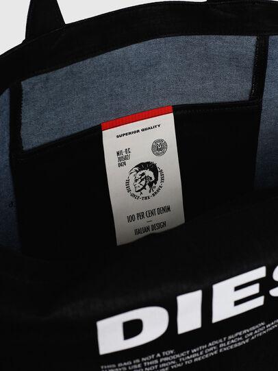 Diesel - D-THISBAG SHOPPER L, Nero - Shopper e Borse a Spalla - Image 4