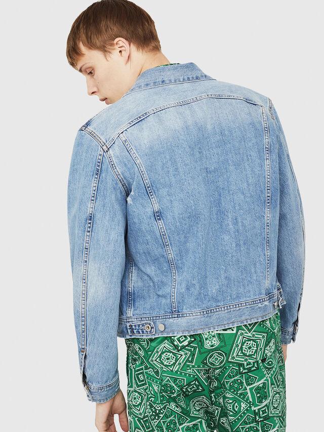 Diesel - D-ROY, Blu Jeans - Giacche in denim - Image 2
