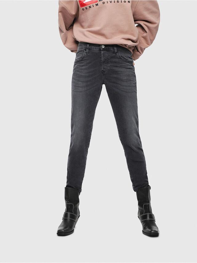 Diesel - Babhila 069EQ, Blu Scuro - Jeans - Image 1