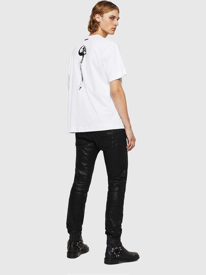 Diesel - TEORIALE-X1, Bianco - T-Shirts - Image 6