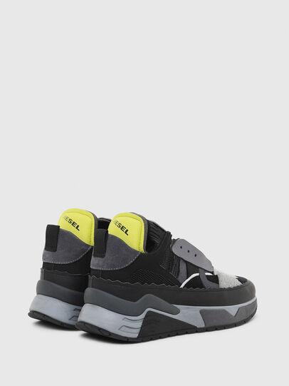 Diesel - S-BRENTHA DEC, Nero/Grigio - Sneakers - Image 3