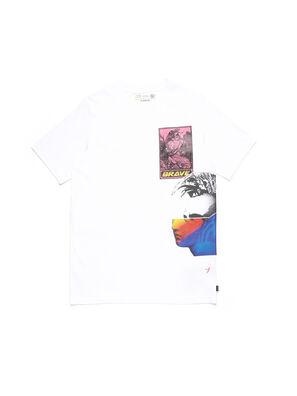 D-5055-W, Bianco - T-Shirts