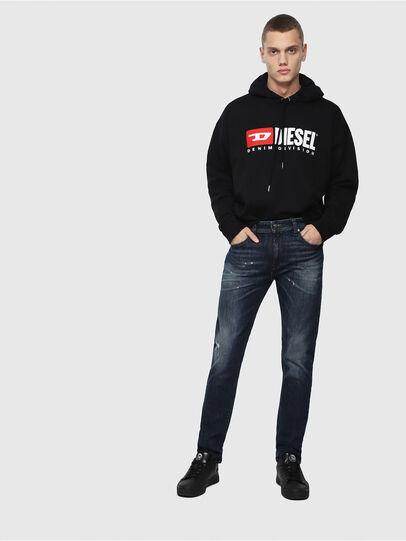 Diesel - Thommer C87AN, Blu Scuro - Jeans - Image 4