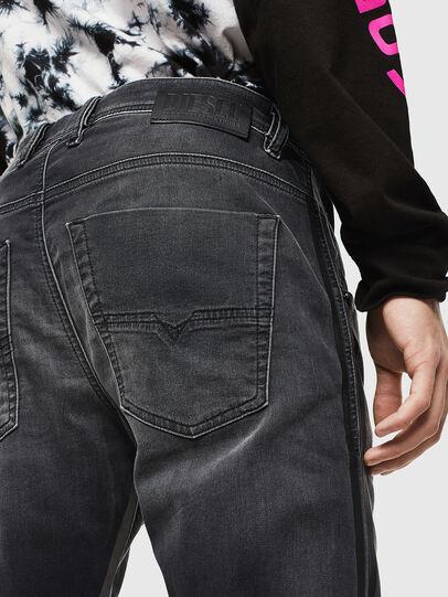 Diesel - Krooley JoggJeans 0094Q, Nero/Grigio scuro - Jeans - Image 4