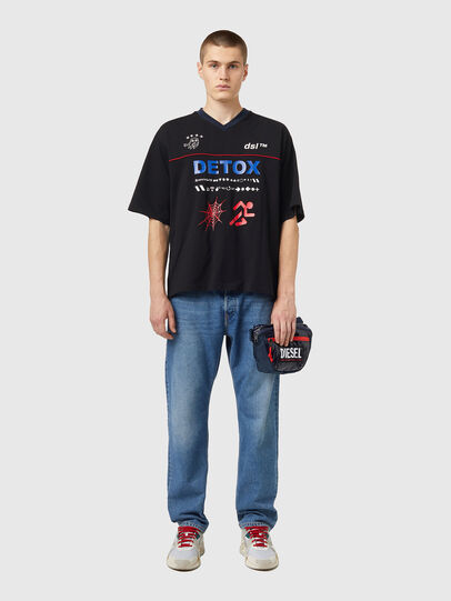 Diesel - LOKI PAT, Blu - Borse a tracolla - Image 6