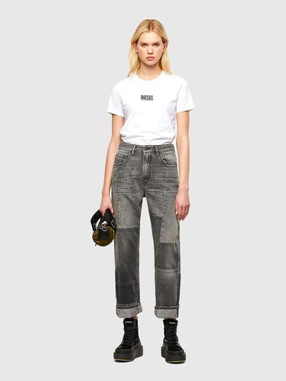 Diesel - T-SILY-SMALLOGO, Bianco - T-Shirts - Image 4