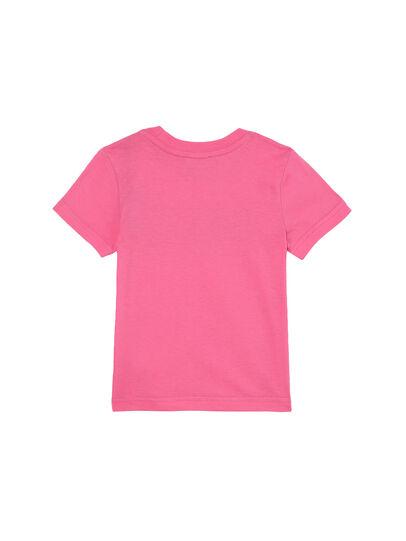 Diesel - TJUSTLOGOB-FL MC-R, Rosa - T-shirts e Tops - Image 2
