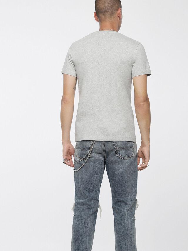 Diesel - T-DIEGO-XC, Melange Chiaro - T-Shirts - Image 2