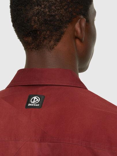 Diesel - S-GUNN-TIE, Rosso - Camicie - Image 4