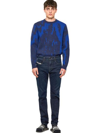 Diesel - D-Strukt JoggJeans® Z69VI, Blu Scuro - Jeans - Image 5