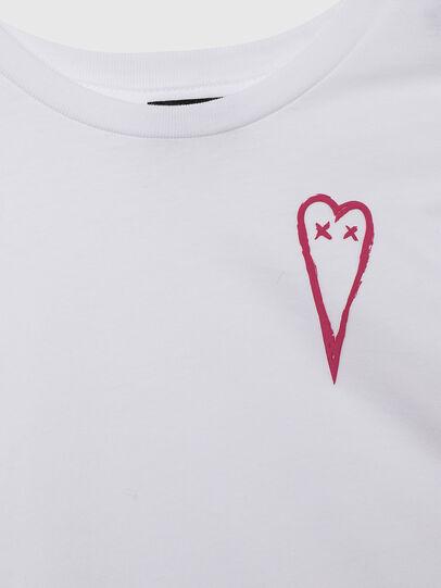 Diesel - TSILYHEARTS, Bianco - T-shirts e Tops - Image 3