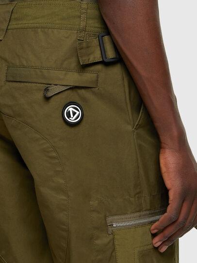 Diesel - P-CYAN, Verde Militare - Pantaloni - Image 4