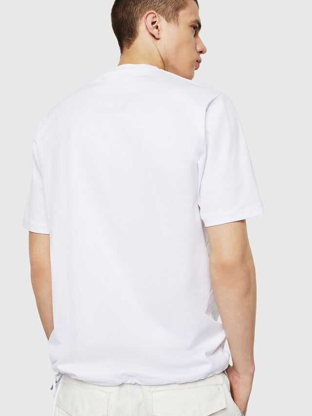 Diesel - T-ALEKSEY, Bianco - T-Shirts - Image 2