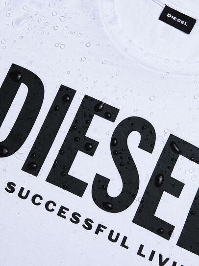 Diesel - T-DIEGO-LOGO, Bianco - T-Shirts - Image 4