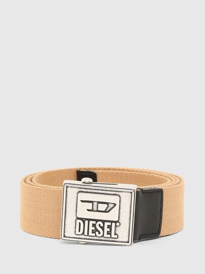 Diesel - B-METALTAPE, Giallo - Cinture - Image 1