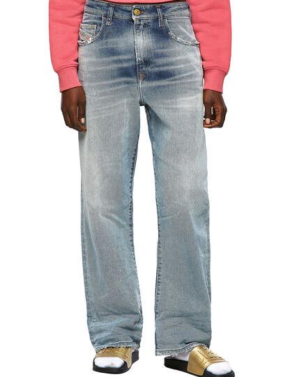 Diesel - D-Reggy 09A04, Blu Chiaro - Jeans - Image 1