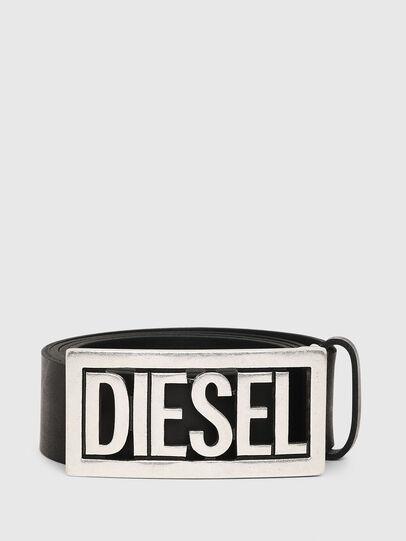 Diesel - B-OGO, Nero - Cinture - Image 1