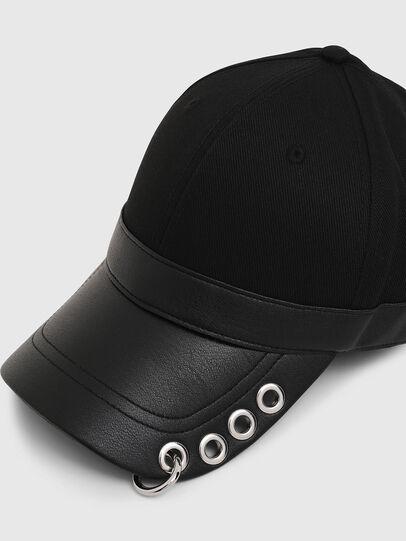 Diesel - COSNAP, Nero - Cappelli - Image 3