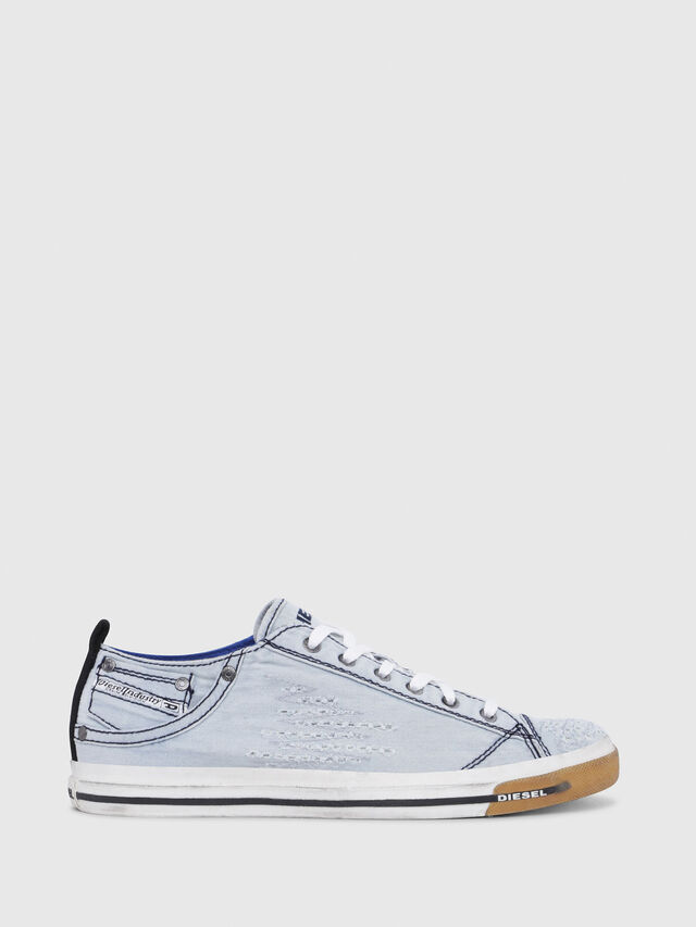 Diesel - EXPOSURE LOW I, Blu Chiaro - Sneakers - Image 1