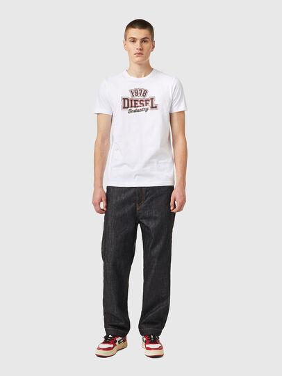 Diesel - T-DIEGOS-K26, Bianco/Rosso - T-Shirts - Image 4
