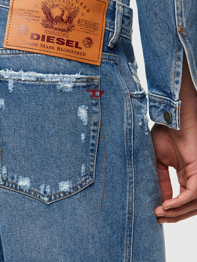 Diesel - D-WILLOH-X, Blu Chiaro - Shorts - Image 3