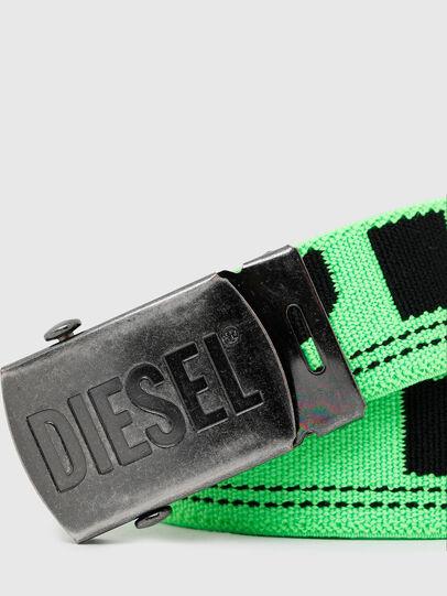 Diesel - BOXXY, Verde Fluo - Cinture - Image 2