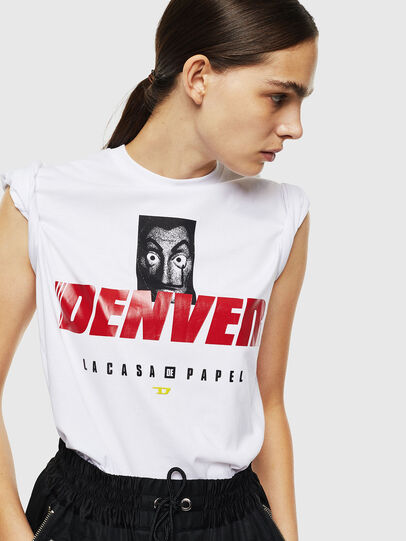 Diesel - LCP-T-DIEGO-DENVER, Bianco - T-Shirts - Image 6